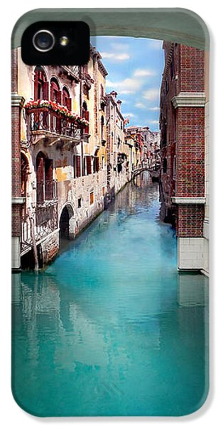 Featured Images iPhone 5s Case - Dreaming Of Venice Vertical Panorama by Az Jackson