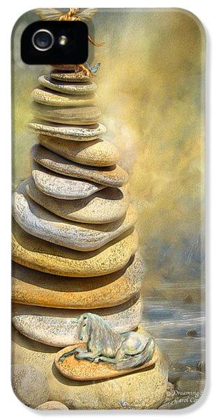 Dreaming Stones IPhone 5s Case by Carol Cavalaris