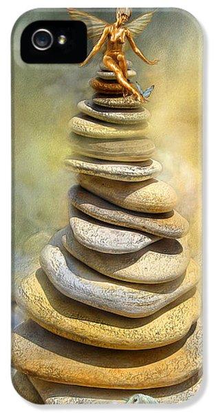 Fairy iPhone 5s Case - Dreaming Stones by Carol Cavalaris