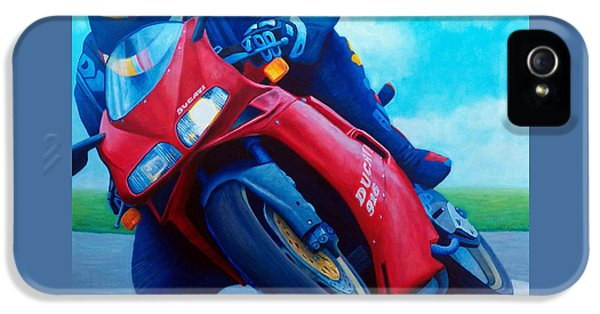 Ducati 916 IPhone 5s Case by Brian  Commerford