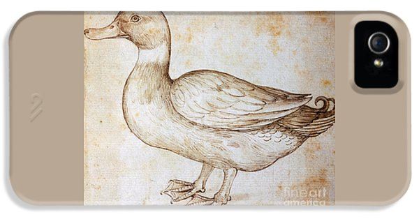 Duck IPhone 5s Case by Leonardo Da Vinci