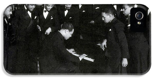 Harlem iPhone 5s Case - Duke Ellington And Cotton Club by Science Source