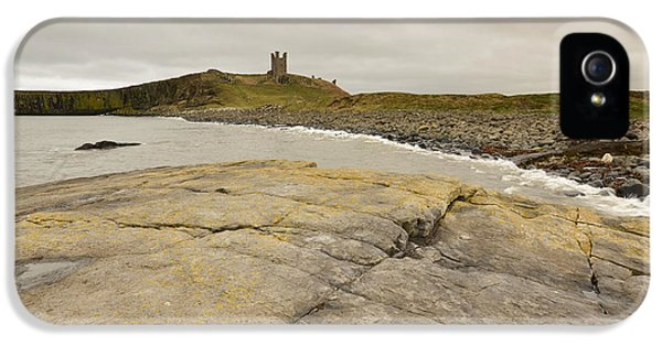 Castle iPhone 5s Case - Dunstanburgh Castle by Smart Aviation