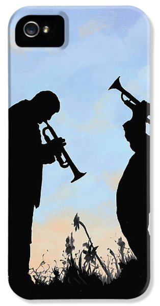 Trumpet iPhone 5s Case - duo by Guido Borelli