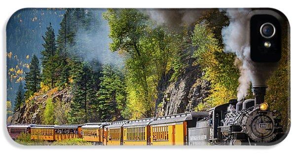 Durango-silverton Narrow Gauge Railroad IPhone 5s Case by Inge Johnsson