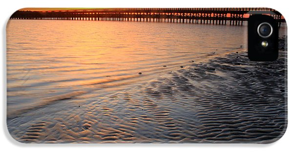 Duxbury Beach Powder Point Bridge Sunset IPhone 5s Case
