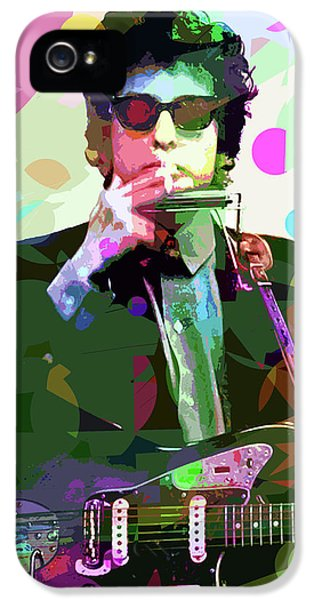 Dylan In Studio IPhone 5s Case by David Lloyd Glover
