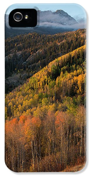 IPhone 5s Case featuring the photograph Eagle's Nest Peak Vertical by Aaron Spong