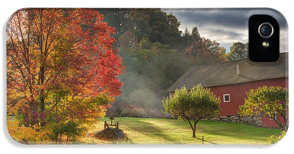 Early Autumn Morning IPhone 5s Case by Bill Wakeley