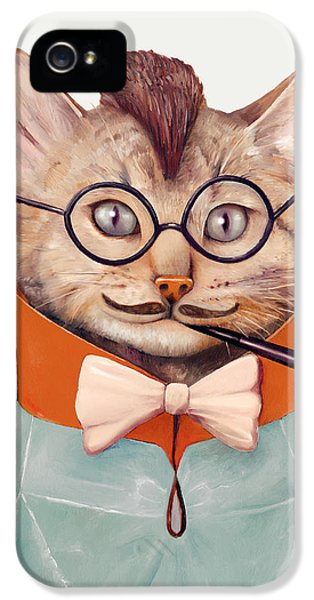 Eclectic Cat IPhone 5s Case by Animal Crew