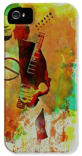Eddie Van Halen IPhone 5s Case by Naxart Studio