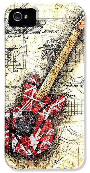 Eddie's Guitar II IPhone 5s Case by Gary Bodnar