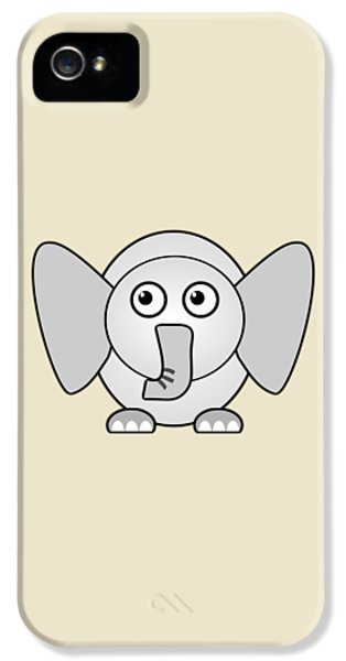 Elephant - Animals - Art For Kids IPhone 5s Case by Anastasiya Malakhova
