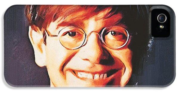 Elton John Young Portrait IPhone 5s Case by Yury Malkov
