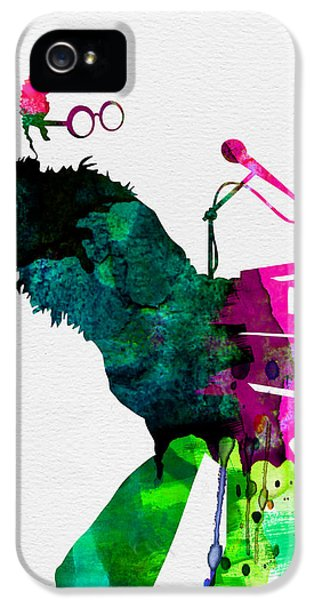 Elton Watercolor IPhone 5s Case by Naxart Studio