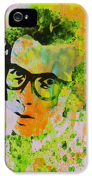 Elvis Presley iPhone 5s Case - Elvis Costello by Naxart Studio