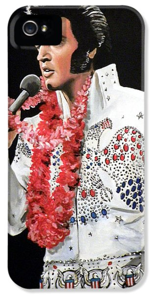 Elvis Presley iPhone 5s Case - Elvis by Tom Carlton