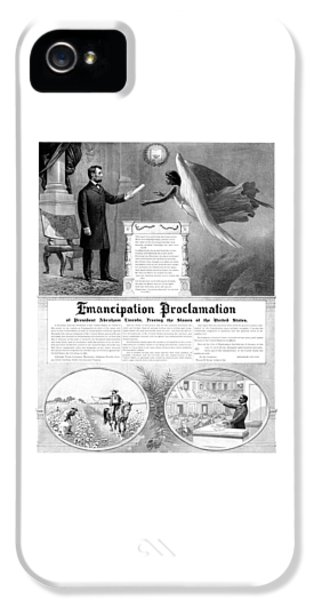 Abraham Lincoln iPhone 5s Case - Emancipation Proclamation by War Is Hell Store