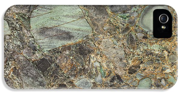Emerald Green Granite IPhone 5s Case by Anthony Totah
