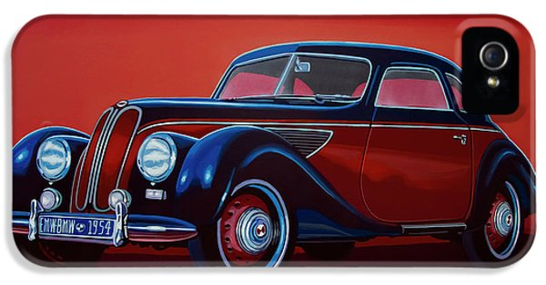 Emw Bmw 1951 Painting IPhone 5s Case by Paul Meijering