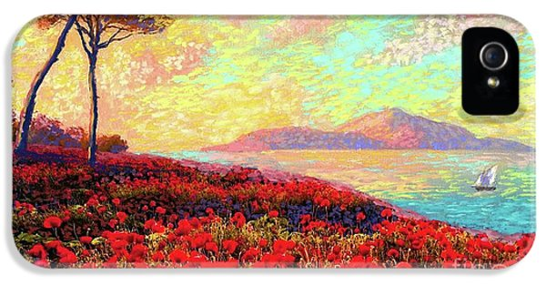 Enchanted By Poppies IPhone 5s Case