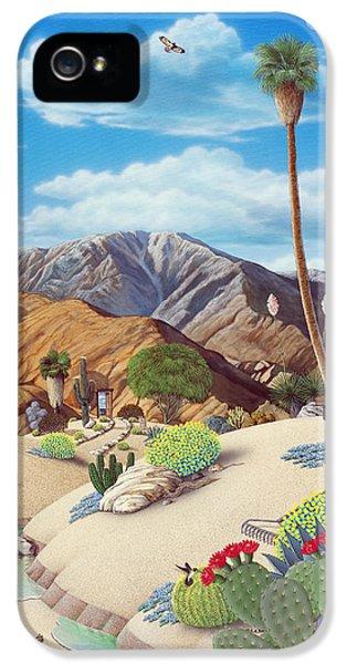 Desert iPhone 5s Case - Enchanted Desert by Snake Jagger