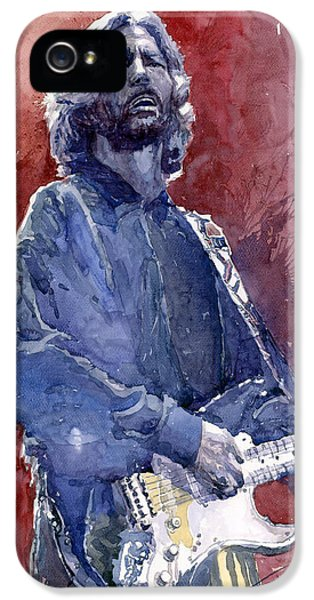 Eric Clapton 04 IPhone 5s Case by Yuriy  Shevchuk