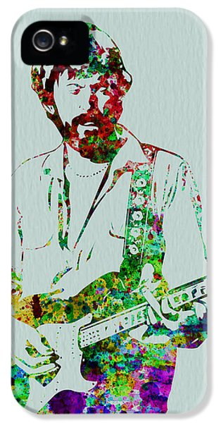 Eric Clapton IPhone 5s Case by Naxart Studio