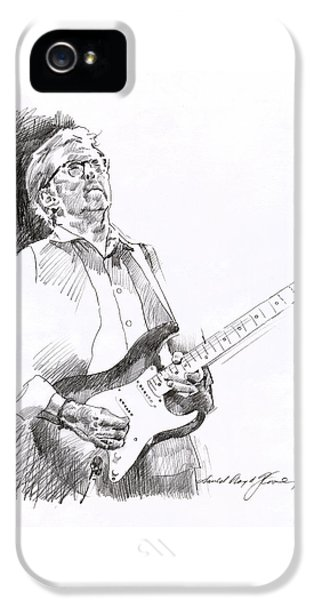 Eric Clapton Joy IPhone 5s Case by David Lloyd Glover