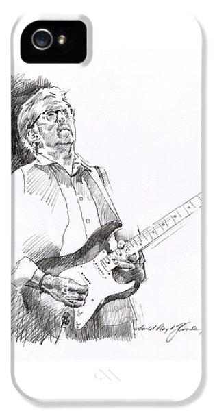 Eric Clapton Joy IPhone 5s Case by David Lloyd Glover