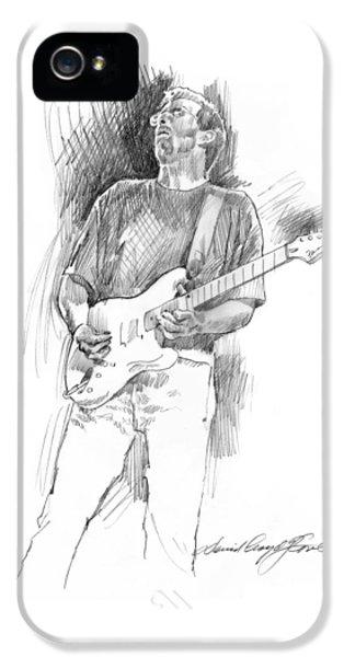 Eric Clapton Strat IPhone 5s Case by David Lloyd Glover