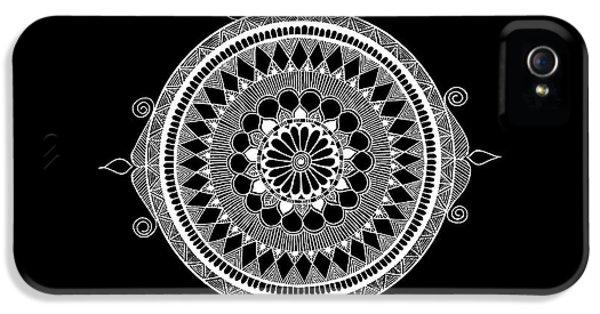 iPhone 5s Case - Estrella Mandala by Anmol Jauher
