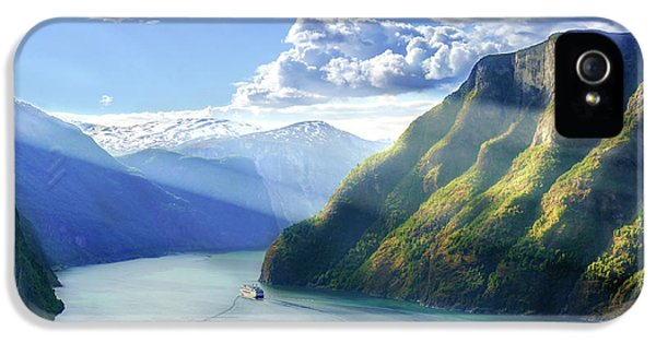 Evening Over Geirangerfjord IPhone 5s Case