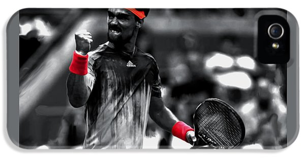 Fabio Fognini IPhone 5s Case by Brian Reaves