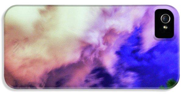 Nebraskasc iPhone 5s Case - Faces In The Clouds 002 by NebraskaSC