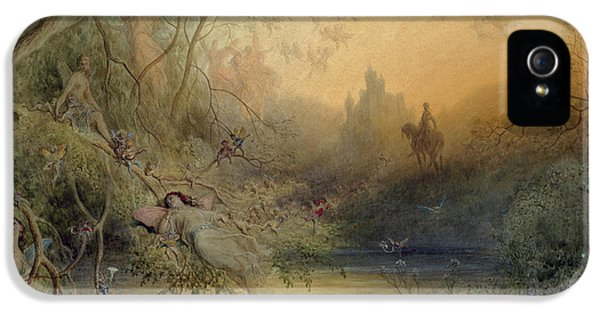 Fairy Land IPhone 5s Case by Gustave Dore