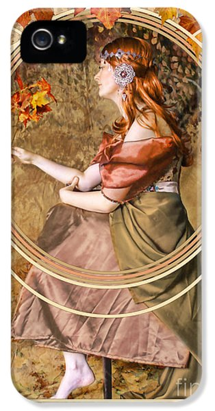 Falling Leaves IPhone 5s Case