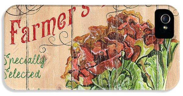 Farmer's Market Sign IPhone 5s Case by Debbie DeWitt