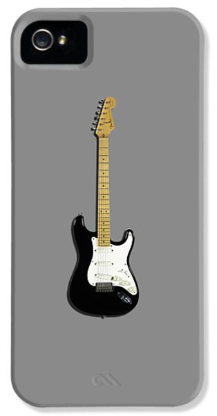Fender Stratocaster Blackie 77 IPhone 5s Case by Mark Rogan