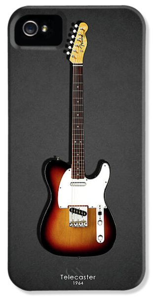 Music iPhone 5s Case - Fender Telecaster 64 by Mark Rogan