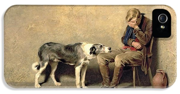 Dog iPhone 5s Case - Fidelity by Briton Riviere