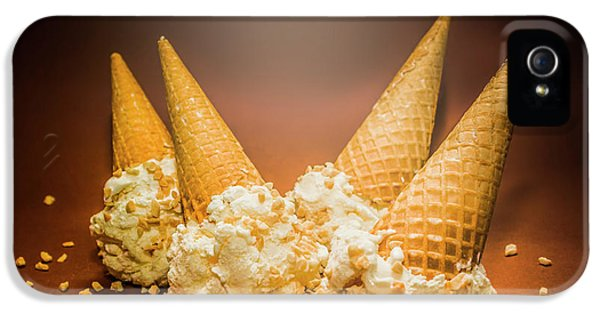 Fine Art Ice Cream Cone Spill IPhone 5s Case by Jorgo Photography - Wall Art Gallery