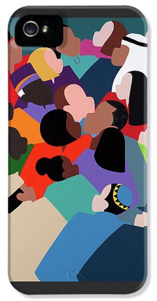 iPhone 5s Case - First Family The Obamas by Synthia SAINT JAMES