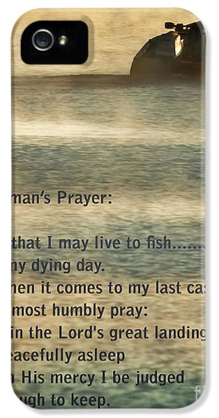 Catfish iPhone 5s Case - Fisherman's Prayer by Robert Frederick