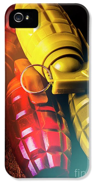 Armed iPhone 5s Case - Flare The Explosive Shakeup by Jorgo Photography - Wall Art Gallery