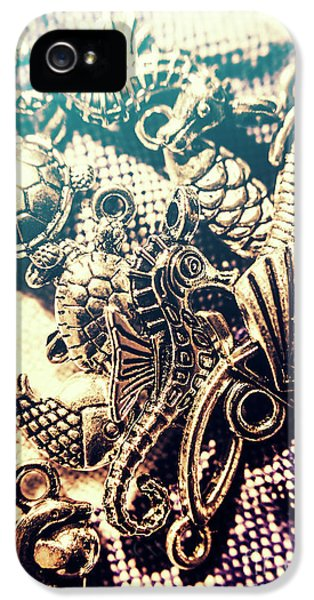 Seahorse iPhone 5s Case - Flares Of Nautical Beauty by Jorgo Photography - Wall Art Gallery