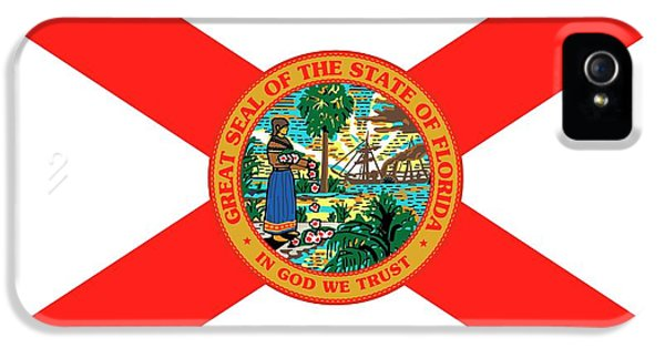 Florida State iPhone 5s Case - Florida State Flag by American School