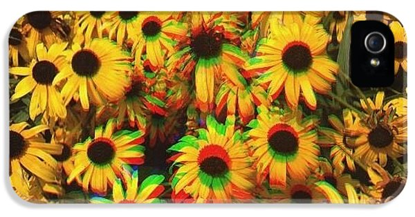 Edit iPhone 5s Case - Flower Trip by Annie Walczyk