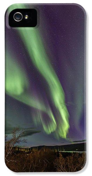 Flowing Aurora IPhone 5s Case by Hitendra SINKAR