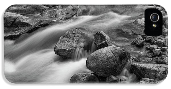 IPhone 5s Case featuring the photograph Flowing Rocks by James BO Insogna
